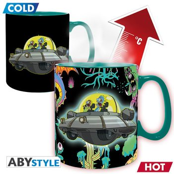 Cup Rick & Morty - Spaceship