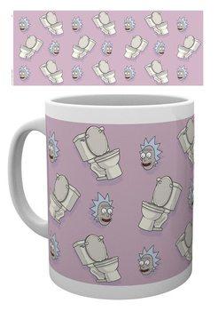 Mug Rick & Morty - Toilet