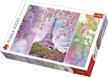 Palapeli Romantic: Spring in Paris