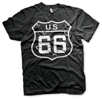 T-paita Route 66 - Bullets
