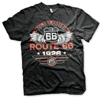T-paita Route 66 - Feel The Freedom