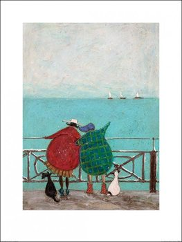 Sam Toft - We Saw Three Ships Come Sailing By Reproduction d'art
