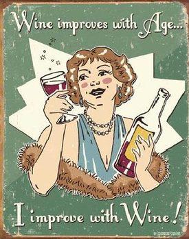 SCHONBERG - wine improved Panneau Mural