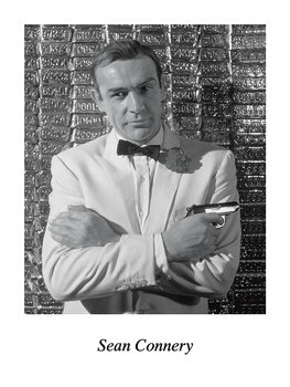 SEAN CONNERY Reproduction
