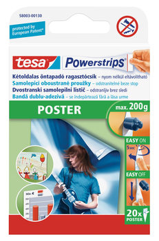 Self-adhesive double-sided strip - removable without a trace