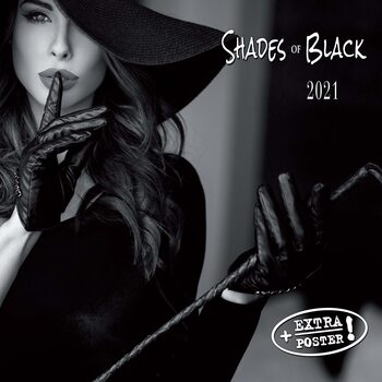 Calendar 2021 Shades of Black