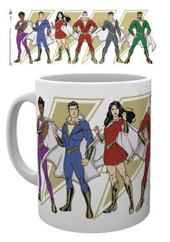 Caneca Shazam - Cartoon Characters
