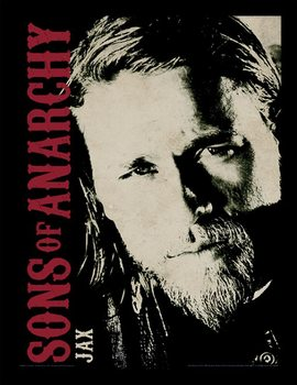 Sons of Anarchy - Jax Poster encadré en verre