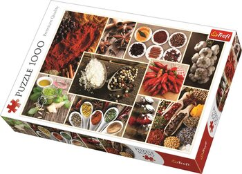 Palapeli Spices - Collage