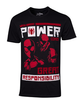 T-paita Spiderman - Power Vs Responsibility