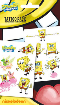 SPONGEBOB 1 Tatouage