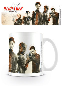 Cup Star Trek Discovery - Discovery Crew