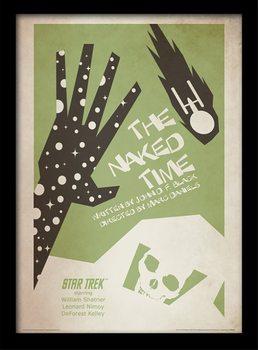Star Trek - The Naked Time Poster encadré en verre