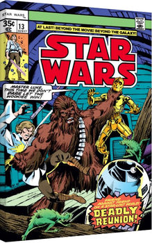Star Wars - Deadly Reunion Canvas Print