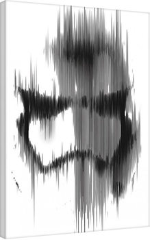 Star Wars Episode VII: The Force Awakens - Stormtrooper Paint Canvas Print
