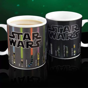 Caneca Star Wars - Lightsabers