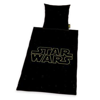 Bed sheets Star Wars - Logo Galaxy