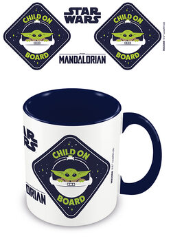 Mug Star Wars: The Mandalorian - Child On Board