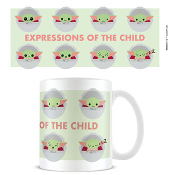 Mug Star Wars: The Mandalorian - Expressions Of The Child