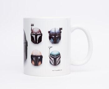 Caneca Star Wars: The Mandalorian - Helmets