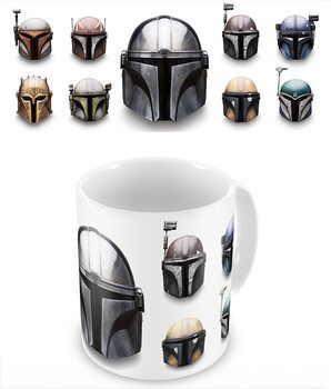 Mug Star Wars: The Mandalorian - Helmets