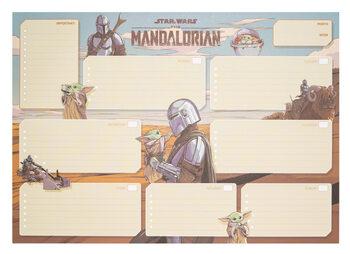 Viikkokalenteri Star Wars: The Mandalorian