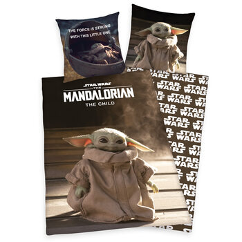 Bed sheets Star Wars: The Mandalorian - The Child 135 x 200 / 80 x 80