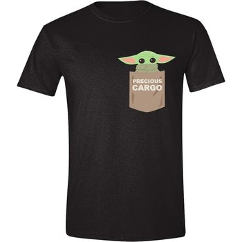 T-shirts Star Wars: The Mandalorian - The Child Pocket