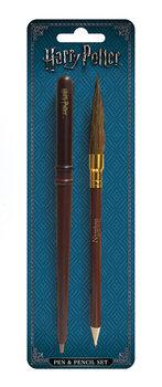 Harry Potter - Wand & Broom Stationery