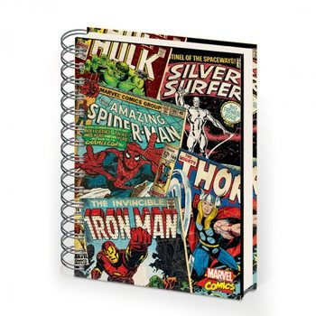 MARVEL MONTAGE - notebook A5 Stationery