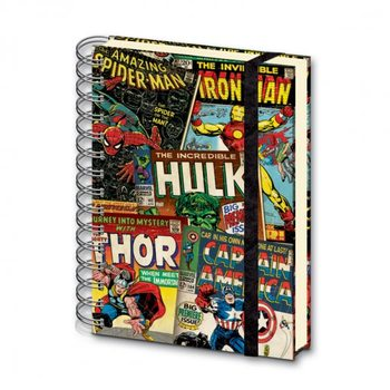 MARVEL - notebook A5 Stationery