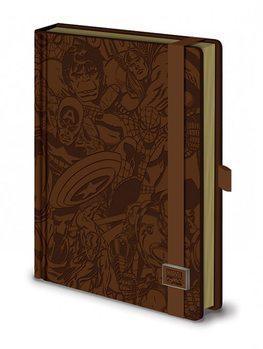 Marvel Retro - Premium A5 notebook Stationery