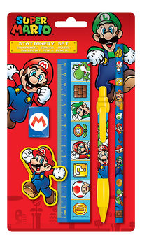Super Mario Stationery