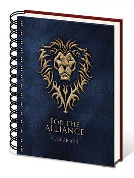 Warcraft - Choose a side A5 notebook  Stationery