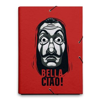 Stationery A4 Binder Money Heist