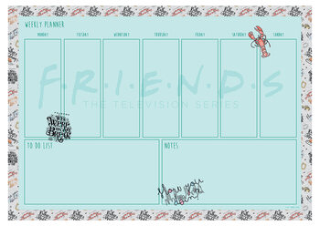 Stationery Weekly planner Friends - Marl