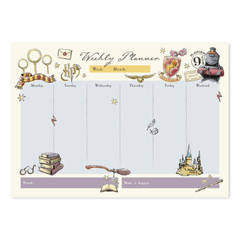 Weekly planner Harry Potter Stationery