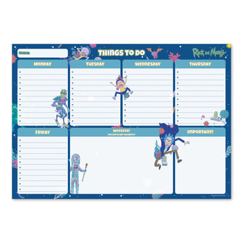Weekly planner Rick & Morty Stationery