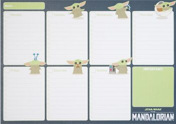 Stationery Weekly Planner Star Wars: The Mandalorian