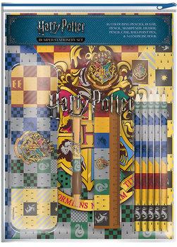 Stationery Harry Potter - House Crests