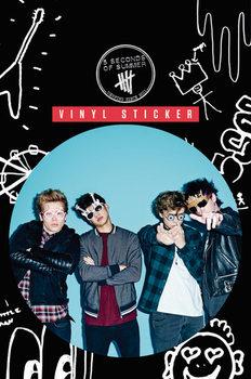 5 Seconds of Summer - Glasses Sticker