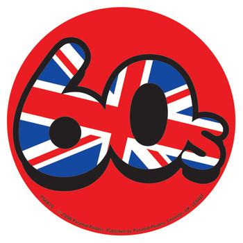 Sticker 60'S UNION JACK