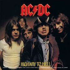 AC/DC - highway to hell Sticker