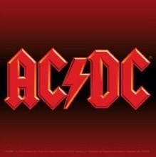 AC/DC - logo Sticker