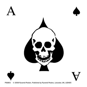Sticker ACE OF SPADES