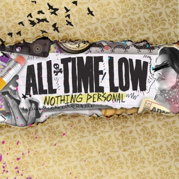 ALL TIME LOW – album cover Sticker