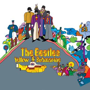 Sticker BEATLES - yellow submarine