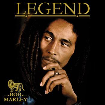 Sticker BOB MARLEY - legend