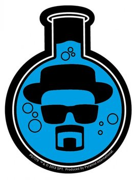 Breaking Bad - Flask Sticker