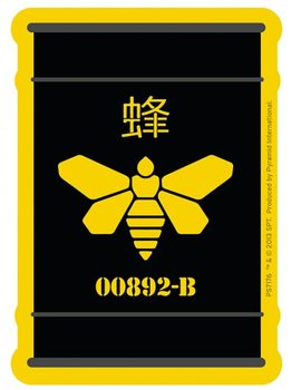 Breaking Bad - Golden Moth Barrel Sticker